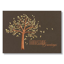 Tree of Thanks Holiday Card