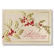 Sincere Appreciation Holiday Card