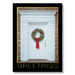 Classic Front Door Greetings Holiday Card