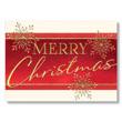 Bold Merry Christmas Holiday Card