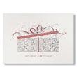 Ornate Holiday Gift Box Holiday Card