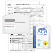 Affordable Care Act Forms and Software 1095-B Kit