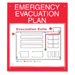 Display your emergency evacuation plan!