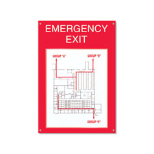 Emergency Exit Board