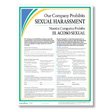 Make your policy clear with an sexual harassment prevention poster