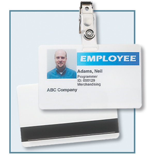 Id Badge Kit Adds On To Any Attendance Tracking Program