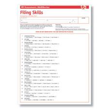 Filing Skills Test