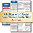Get federal, state and local labor law posting compliance for Arizona with Poster Guard® Compliance Protection