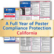 Get federal, state and local labor law posting compliance for California with Poster Guard® Compliance Protection