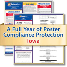 Iowa Labor Law Poster Service