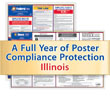 Get federal, state and local labor law posting compliance for Illinois with Poster Guard® Compliance Protection