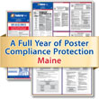 Get federal, state and local labor law posting compliance for Maine with Poster Guard® Compliance Protection