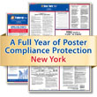 Get federal, state and local labor law posting compliance for New York with Poster Guard® Compliance Protection
