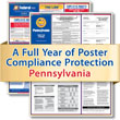 Get federal, state and local labor law posting compliance for Pennsylvania with Poster Guard® Compliance Protection