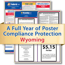 Wyoming Labor Law Poster Service