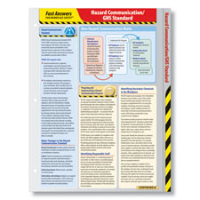 Hazard Communication/GHS Standard Fast Answers Reference Card