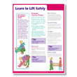 Lifting Safely at Work Poster