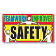 Enhance workplace safety awareness with big, bold safety banners