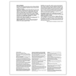 Picture of W-2 Laser 3-Up Preprinted Horizontal Employee Copy B, 2, C