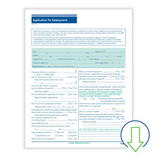 Downloadable 4-Page Job Application