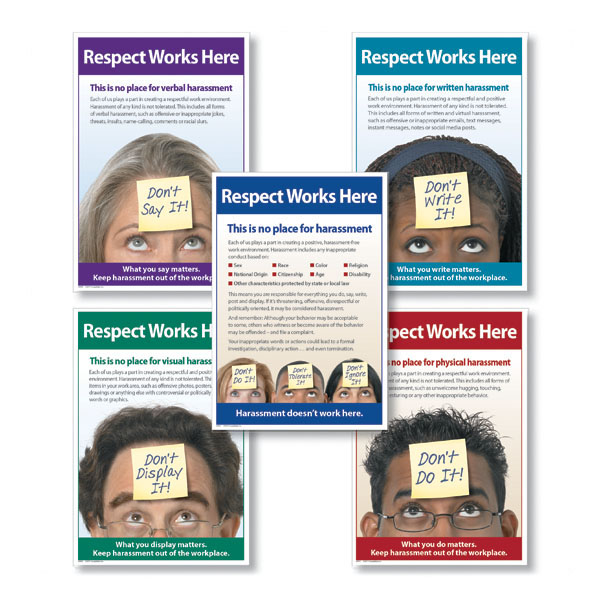 Harassment Poster Bundle