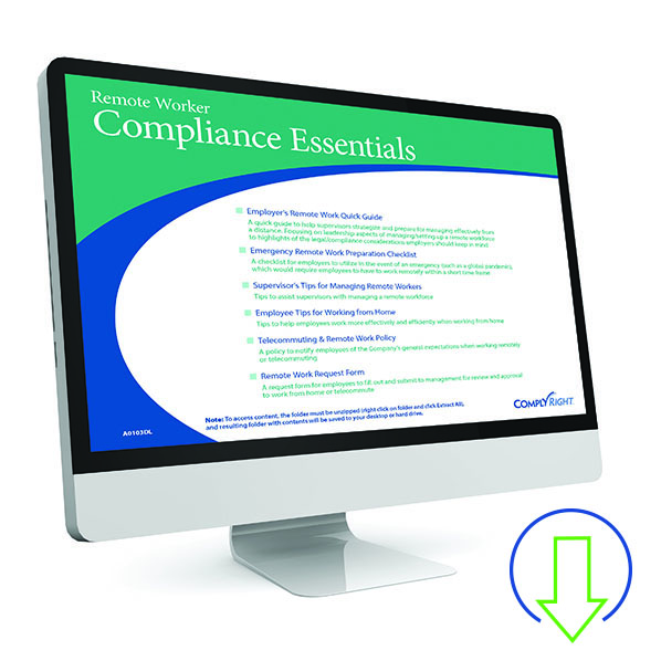 Downloadable Remote Worker Compliance Kit