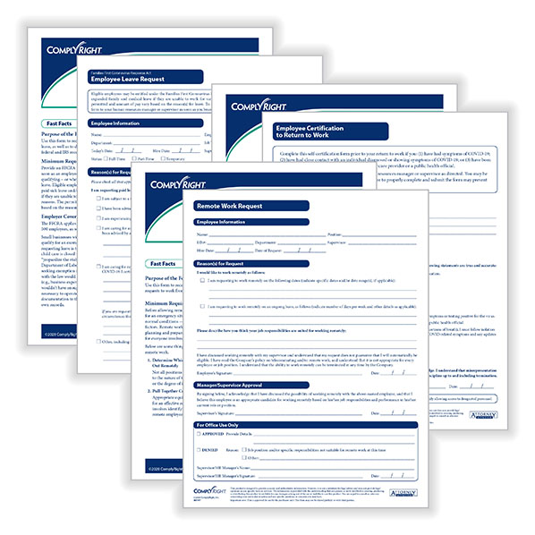 Picture of Employee Work Request Forms Bundle