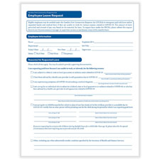FFCRA Leave Request Form