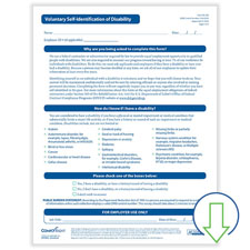 Downloadable Voluntary Self-Identification of Disability Form