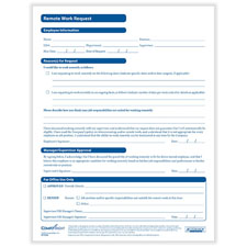 Remote Work Request Form