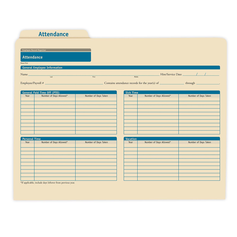 Employee Attendance Record Organizer