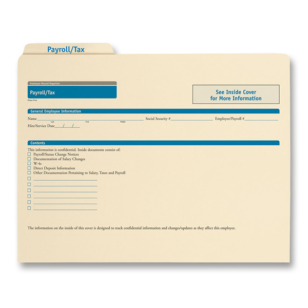 Payroll Records Organizer