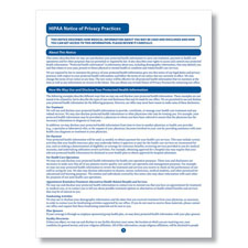 HIPAA Notice of Privacy Practices  1