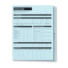 Confidential Employee Medical Records Folder