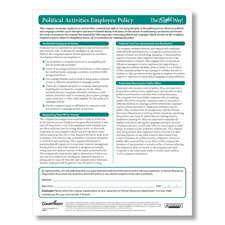 Political Activities Employee Policy
