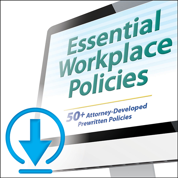 Picture of Downloadable Essential Workplace Policies