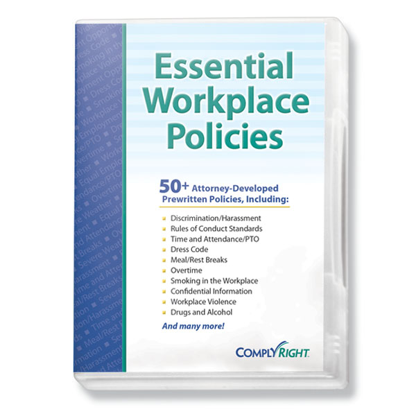 Picture of Essential Workplace Policies CD