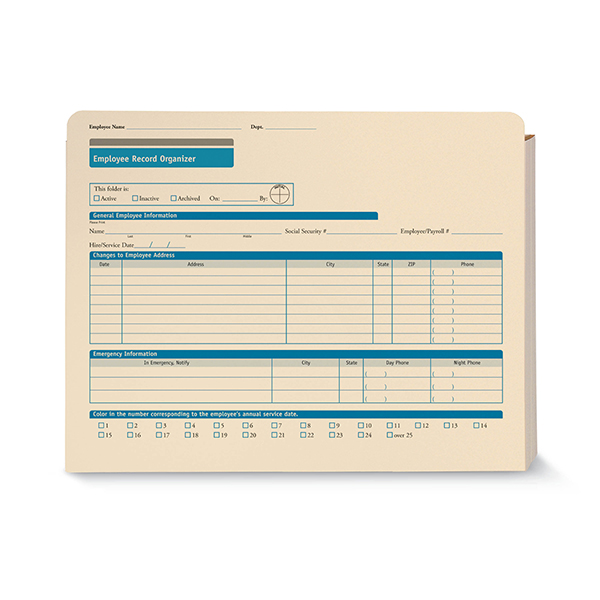 Picture of Employee Record Organizer