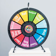 Tabletop Prize Wheel