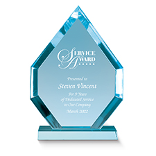 Diamante Acrylic Award Employee Trophy