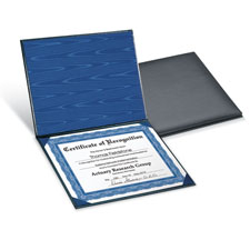 Picture of Certificate Presentation Folder
