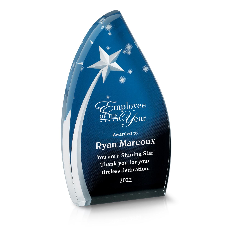 Celestial Star Acrylic Award