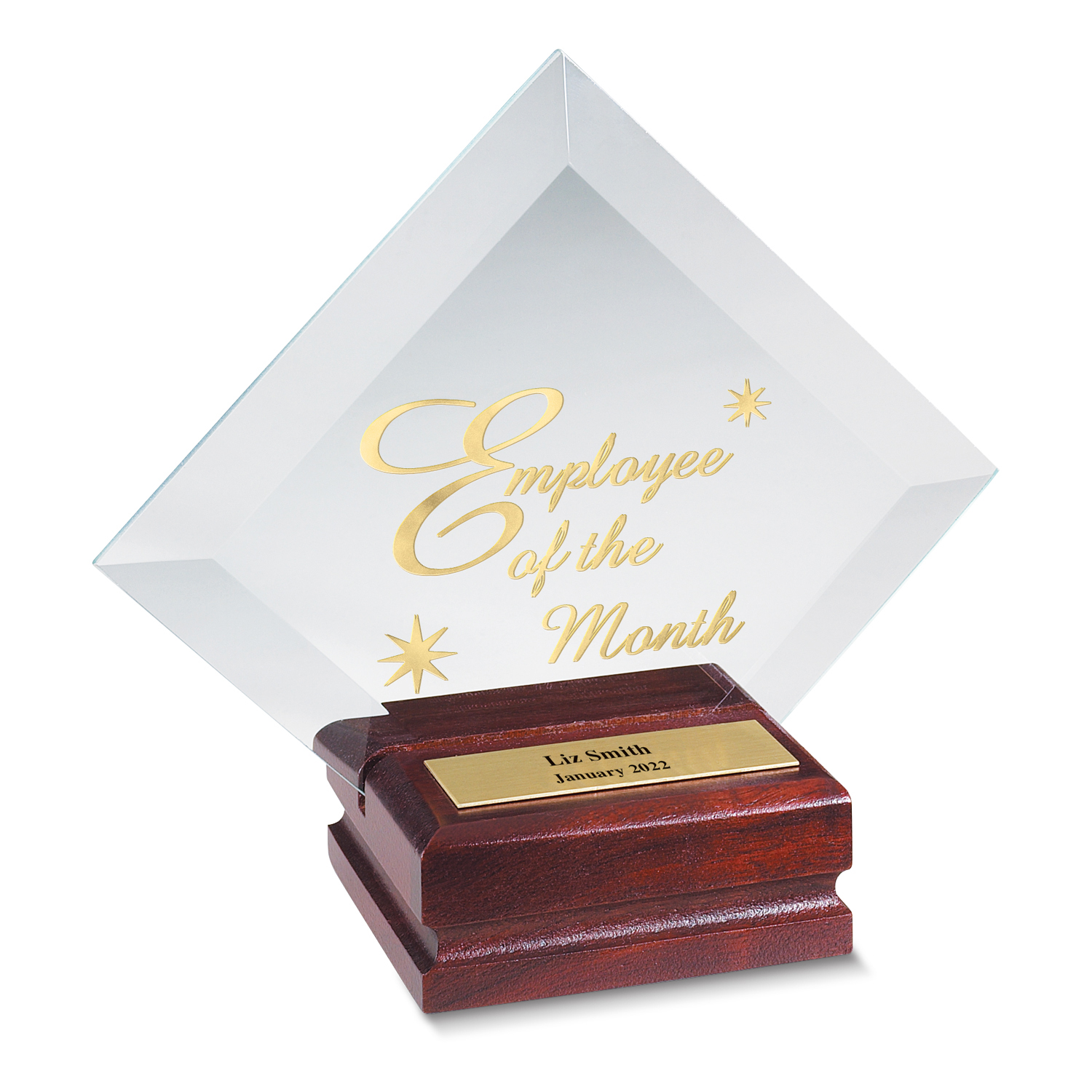 Diamond Employee of the Month Individual Award