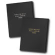 Customized Presentation Folder Black