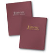 Employee Benefits Presentation Folder Classic-Burgundy