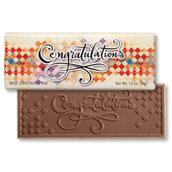 Congrats Chocolate Bar