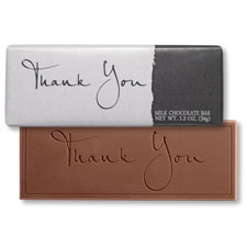 Picture of Elegant Thank You Chocolate Bar