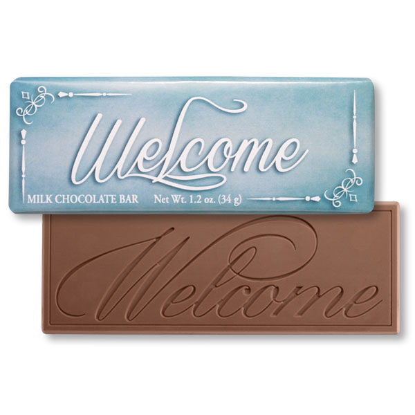 Framed Welcome Chocolate Bar