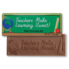 Teachers Make Learning Sweet Chocolate Bar