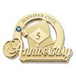 Commemorative Anniversary Pin Sapphire